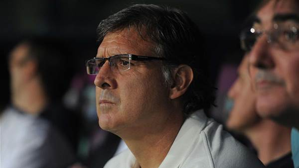 Martino: Barca were lucky