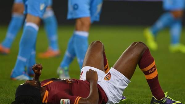 Gervinho, Totti injuries dampen Roma win
