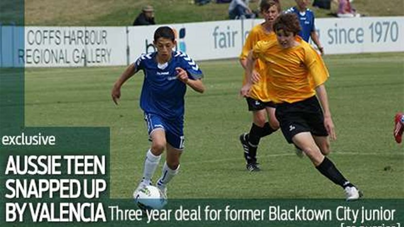 Aussie teen snapped up by Valencia