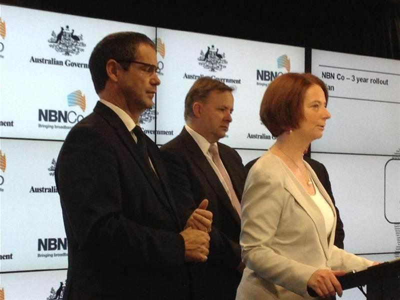 Gillard firm on Huawei NBN ban