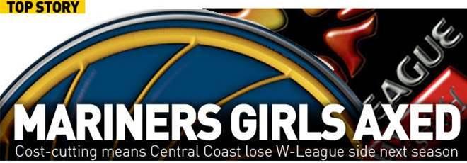 Mariners Women's Team Axed