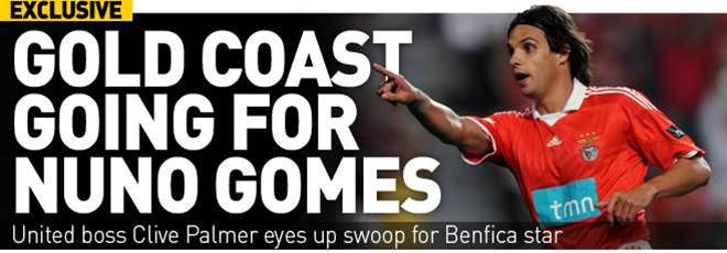 Gold Coast Going For Gomes