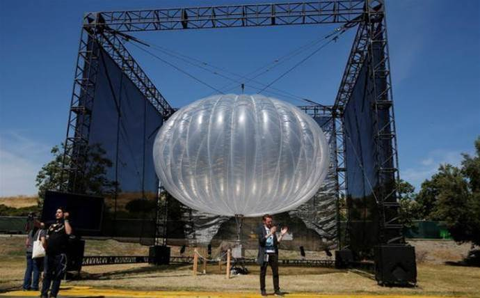 Google using balloons to bring mobile service to Puerto Rico