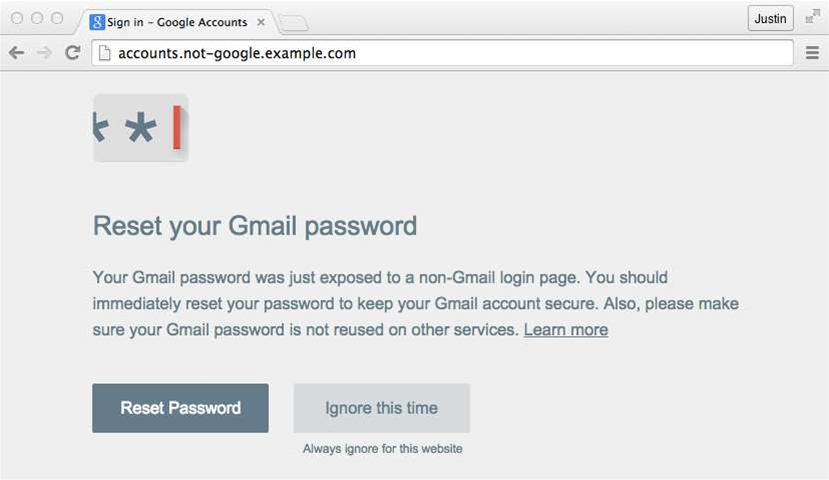 Google builds Chrome tool to prevent phishing