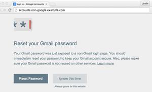 Google builds Chrome tool to prevent phishing