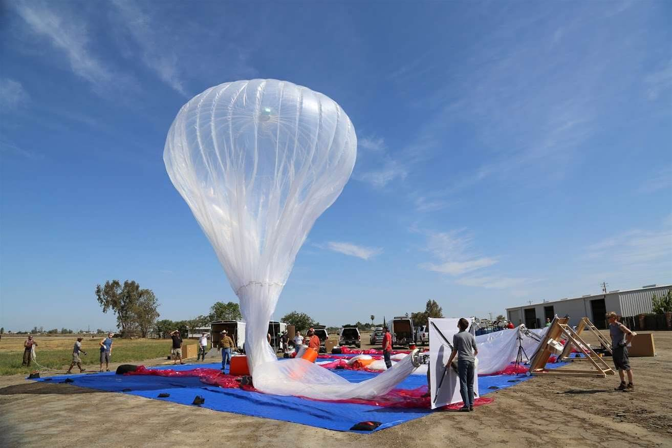 Google flying more, longer-lasting Project Loon balloons