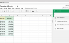 Google Sheets adds machine learning to charts