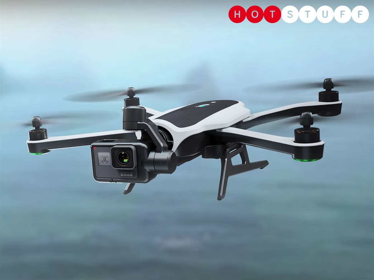 GoPro's foldable Karma drone is a high-flying marvel