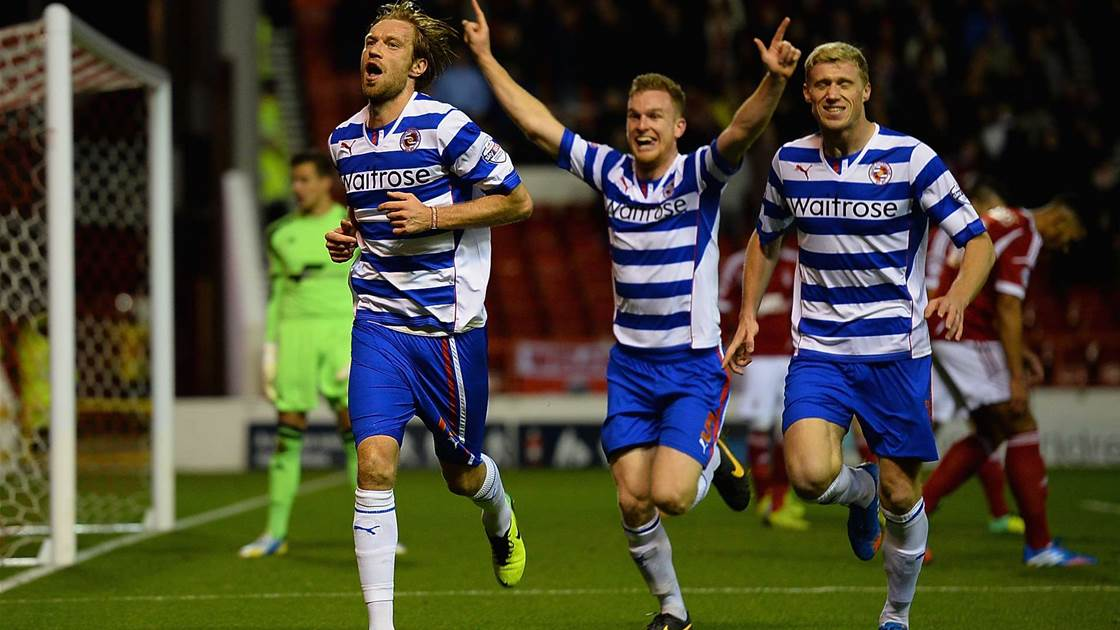 Late winner bumps Reading up to fourth