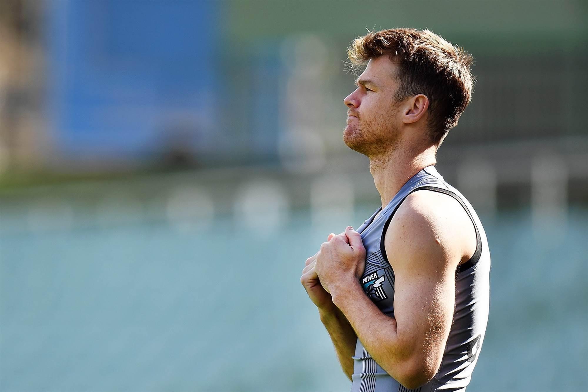 AFL star's shock cancer battle
