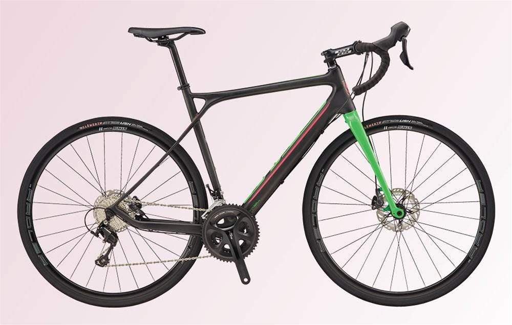 The GT Grade Carbon 105 makes an excellent first road bike