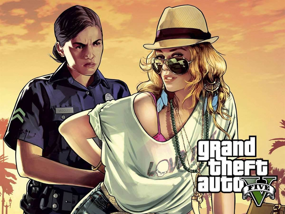 Grand Theft Auto V trailer is here