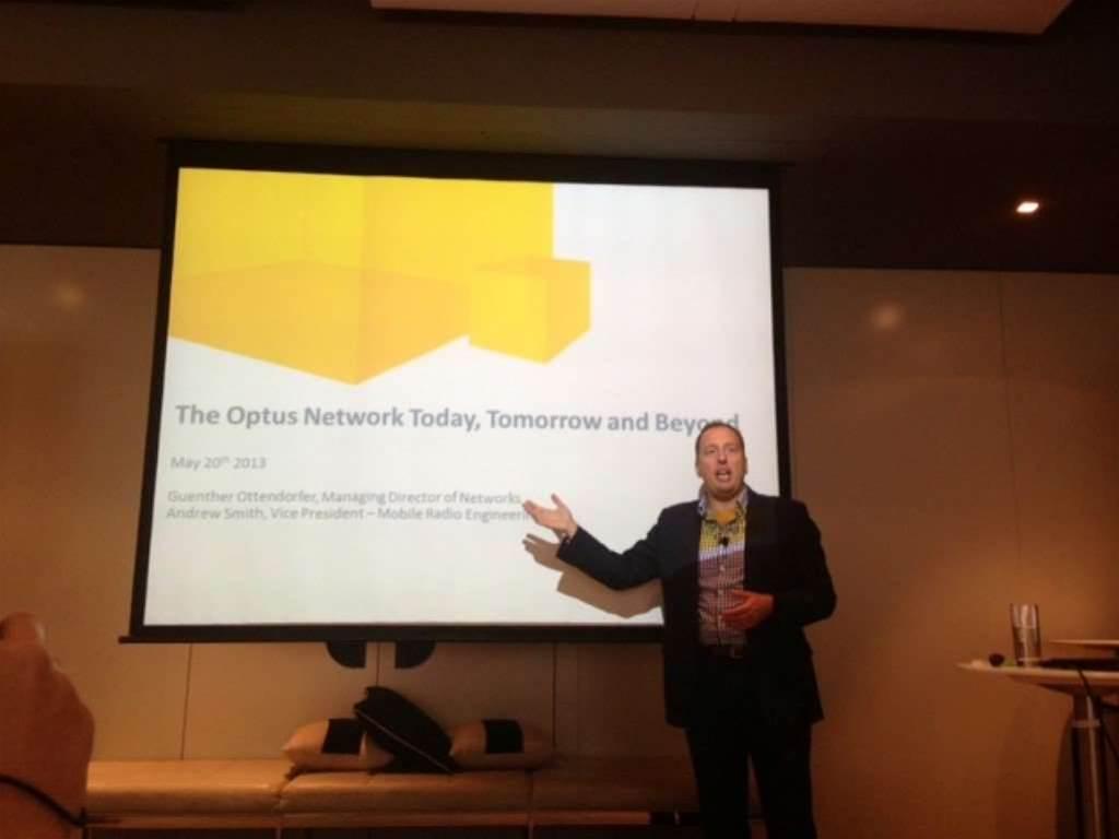 Optus kicks off TD-LTE network