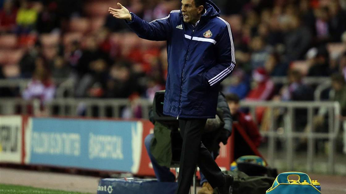 Poyet disappointed by second-half performance