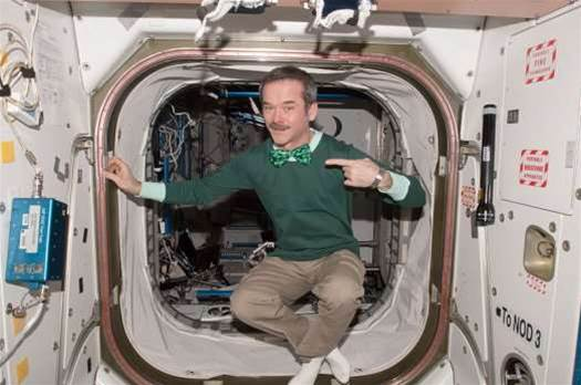 Astronaut Chris Hadfield Retires From The Canadian Space Agency