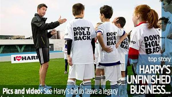 Harry's unfinished business...