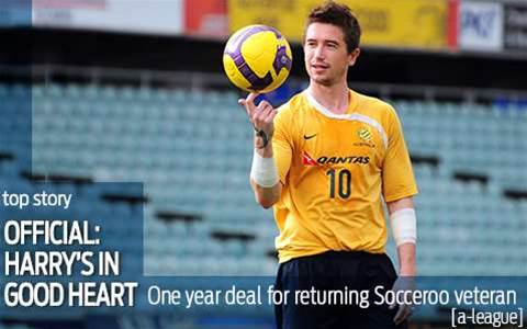 Official: Kewell signs for Melbourne Heart