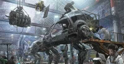 Hawken and NVIDIA working on totally destructible maps