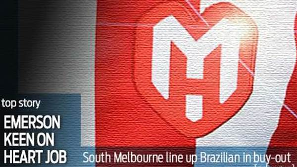 South Melbourne line up Emerson for Heart