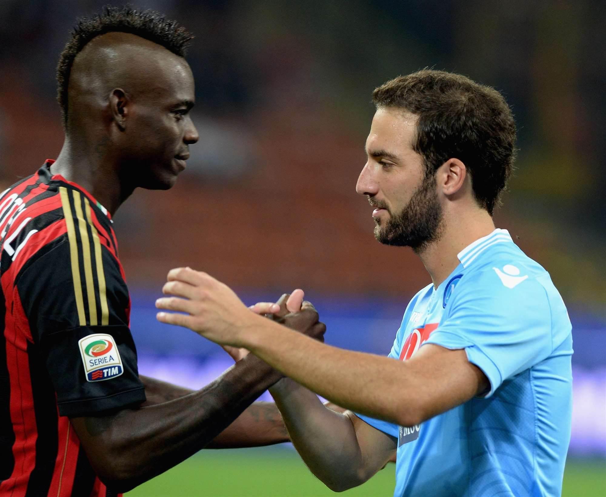 Serie A: Napoli, Roma lead as Inter hit seven