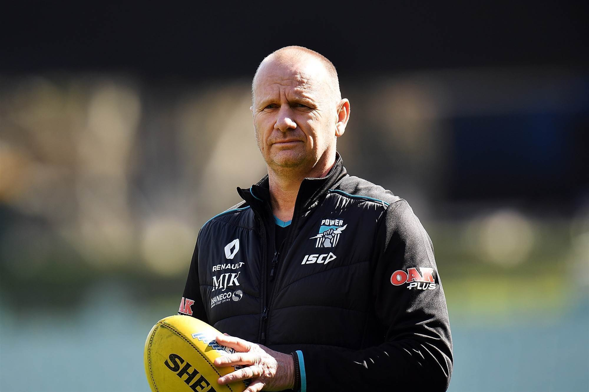 Port Adelaide coach seeks release