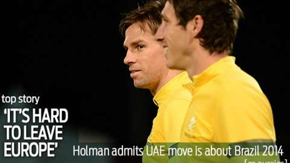 Holman: It was difficult leaving Europe