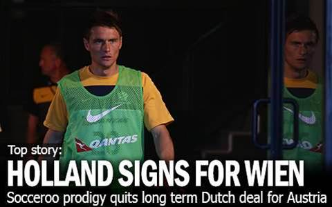 Holland Inks Austria Vienna Deal