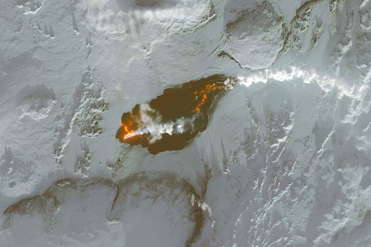 See Iceland's Lava Field From Space