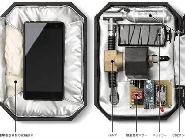 Honda's airbag smartphone concept case is plain nuts