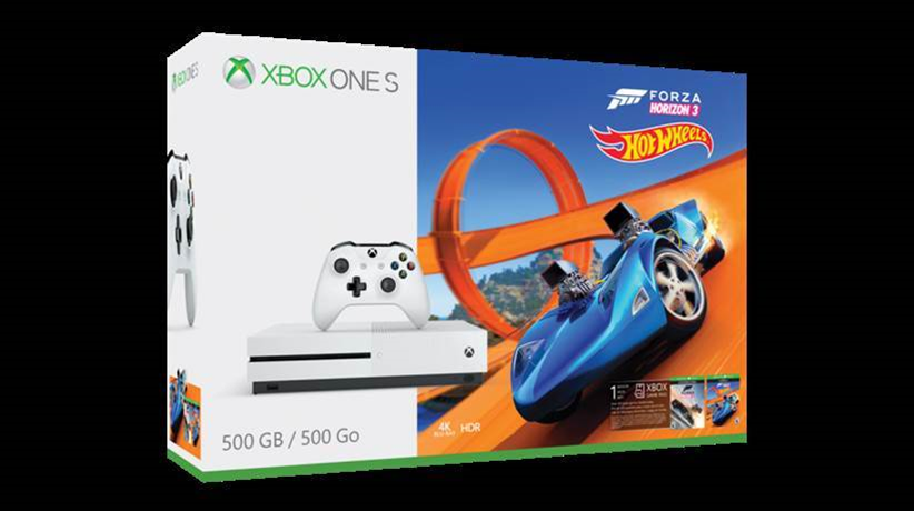 The Xbox One S Forza Horizon 3 Hot Wheels Bundle hits the streets