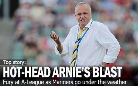Hot-Headed Arnie's Blast At A-League