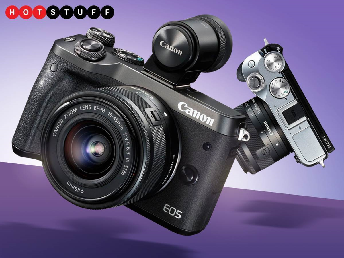 The EOS M6 is your Goldilocks Canon mirrorless