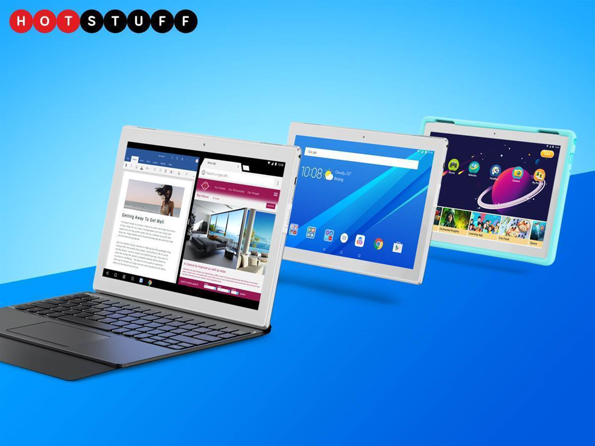 Lenovo's Tab 4 range is the MPV of tablets