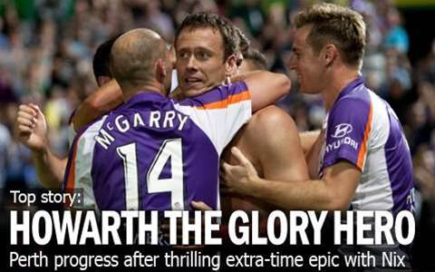 Perth Progress In Extra-Time Thriller
