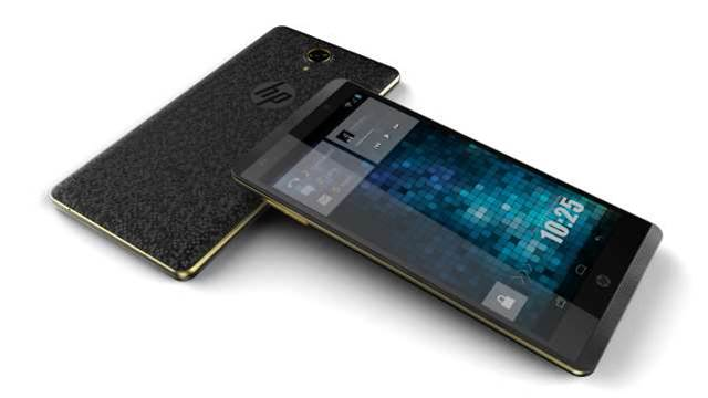 HP re-enters smartphone market