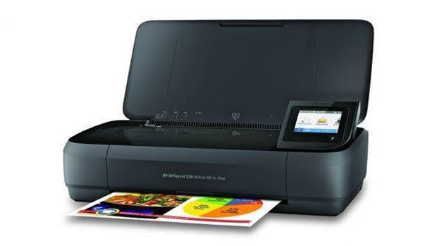 OfficeJet 250 review: HP's portable multi-function printer