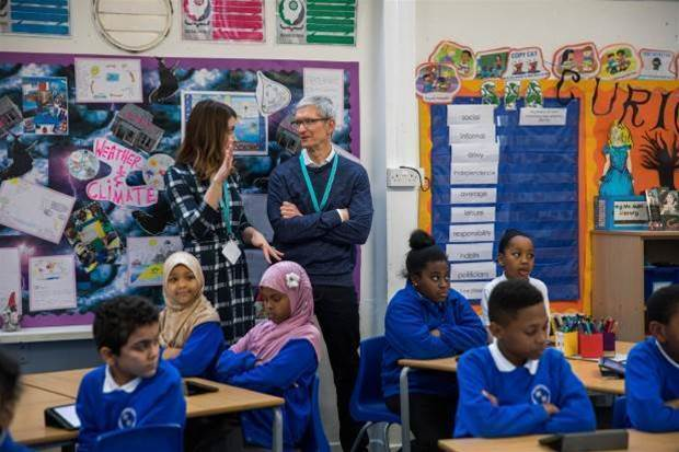 Can Apple keep its place in education?