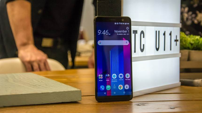 Hands-on Preview: HTC U11 Plus