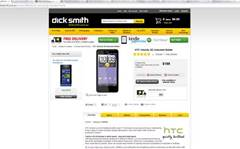 Dick Smith selling HTC Velocity 4G for $199