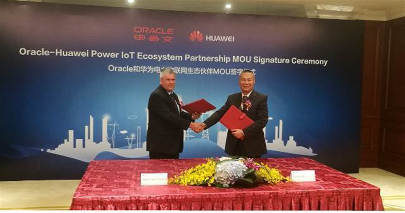 Huawei, Oracle team up for smart power solutions