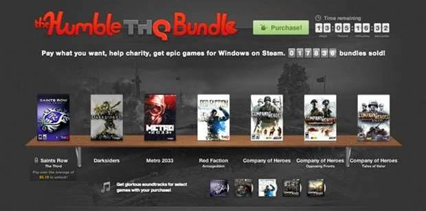 THQ's Humble Bundle packed with classics - and one stinker