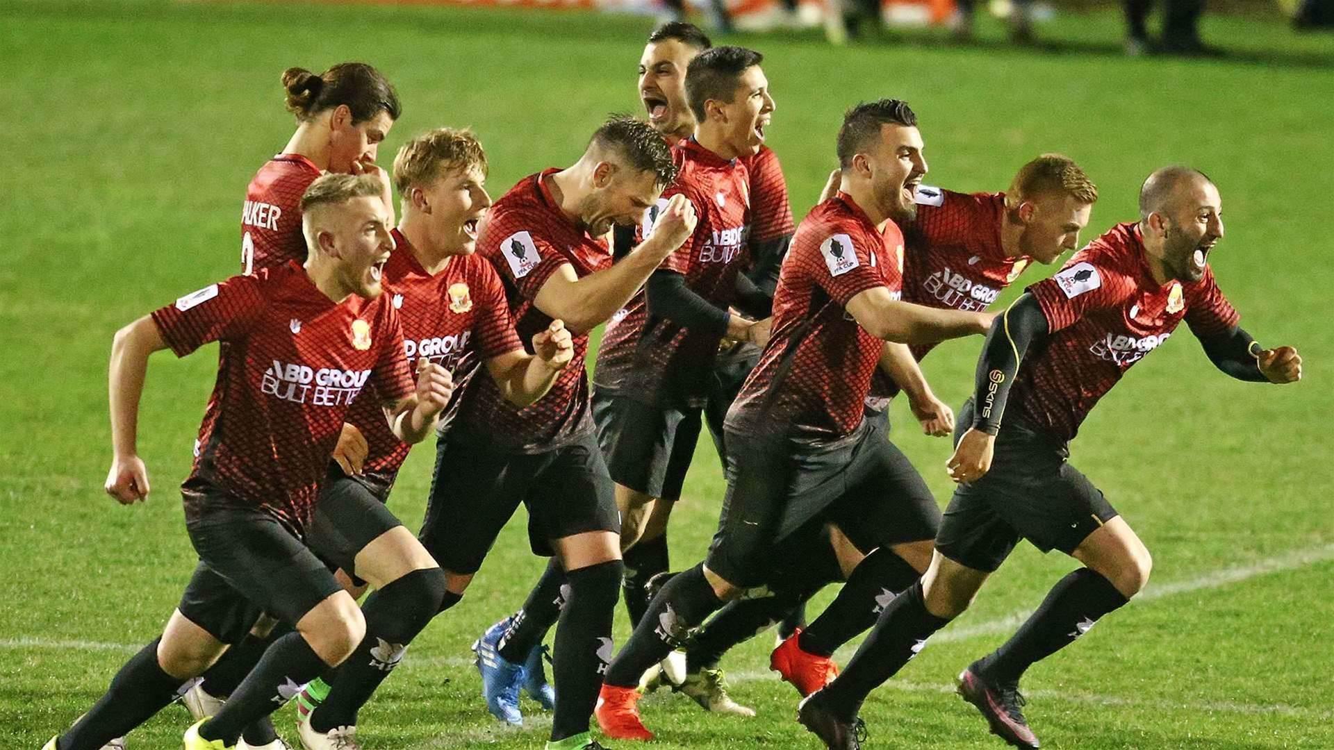 Hume through in tense penalty win