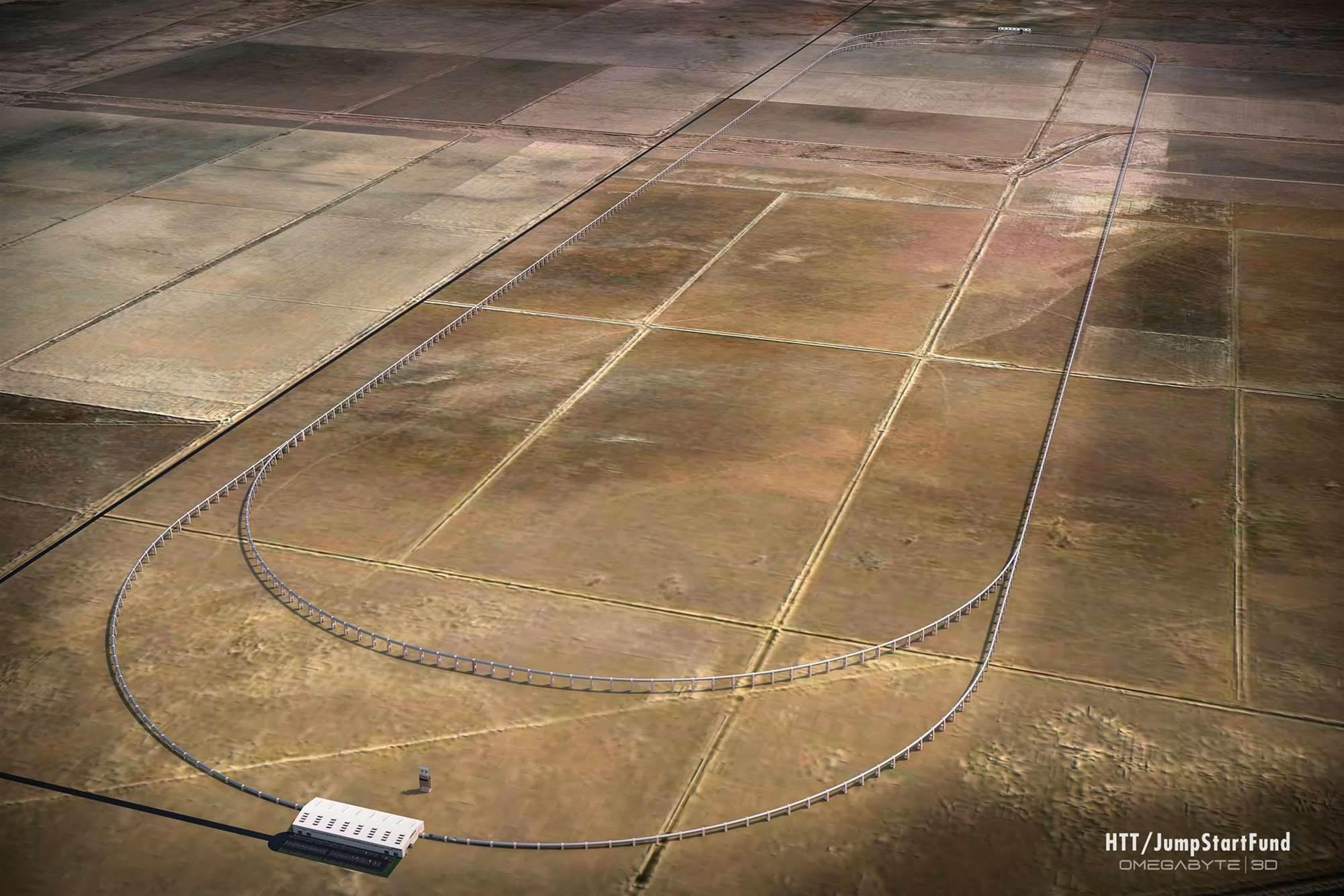 California Hyperloop Test Track Will Start Construction Soon
