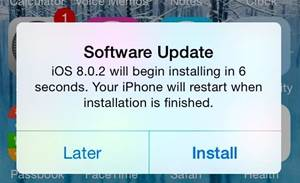Apple quick-releases 8.0.2 update for iOS