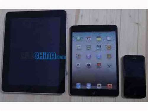 iPad Mini comparison shots appear online