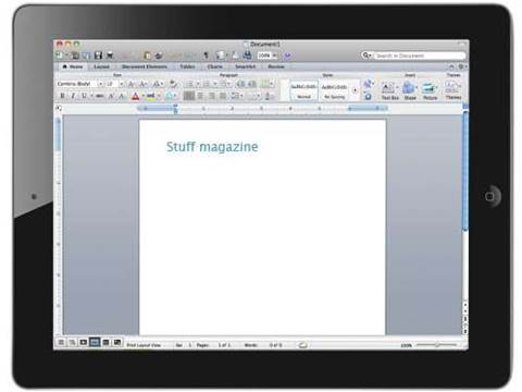 Microsoft Office apps set for iOS and Android