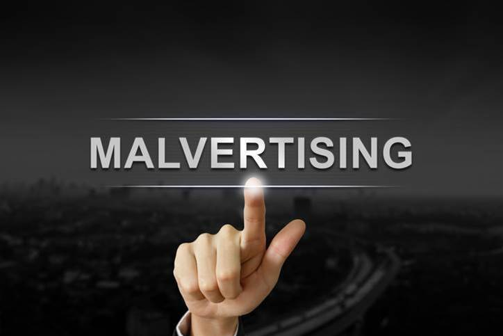 Malware discovered in online ads on popular sites