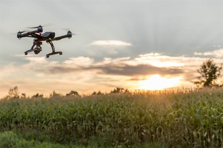 Killer drones coming – for weeds