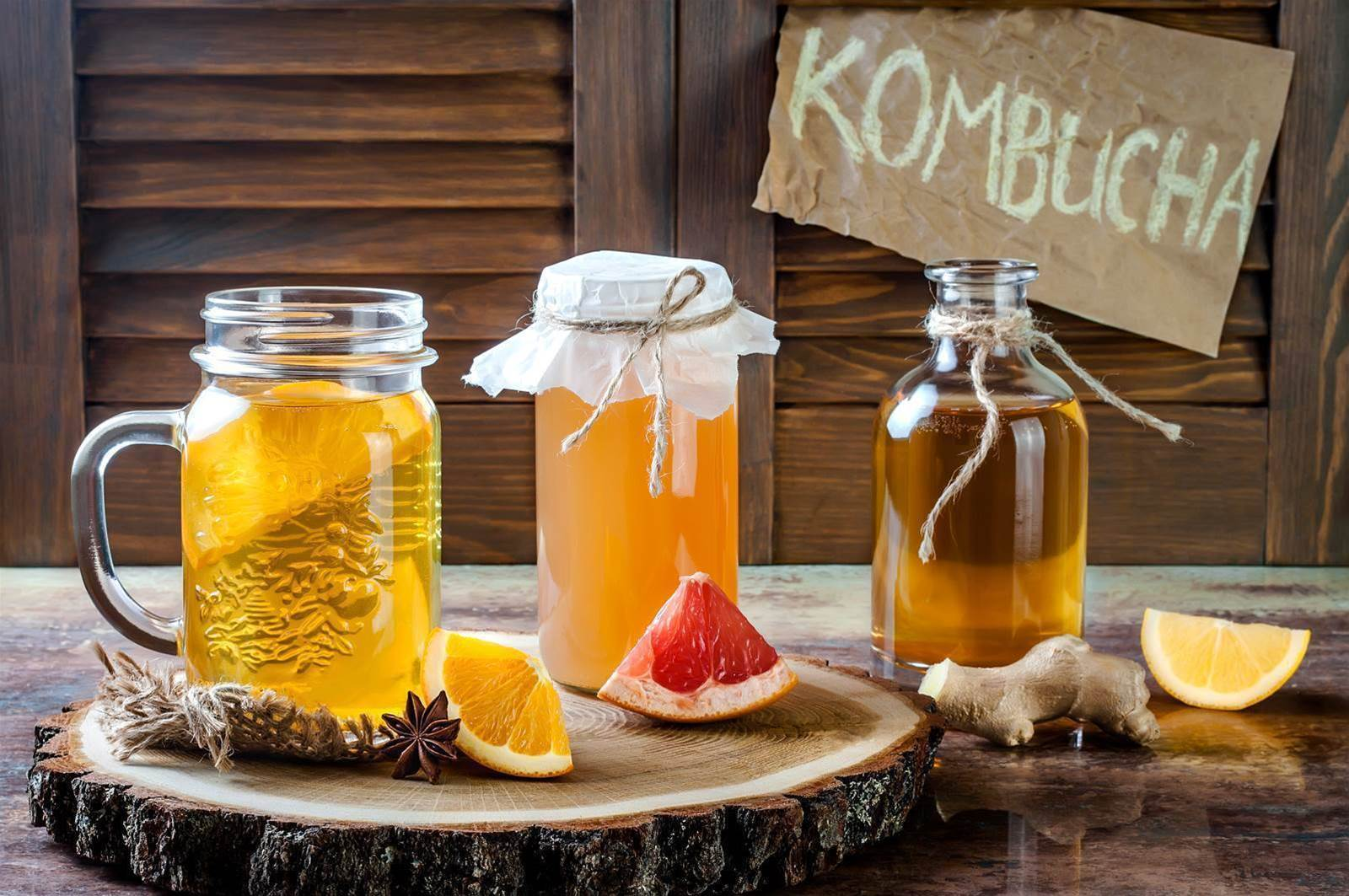 Five reasons to get into kombucha