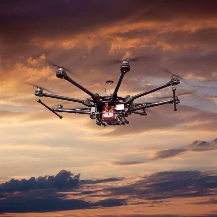 IoT on drone operator's radar